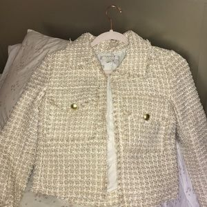 New Forever 21 tweeded coat/jacket